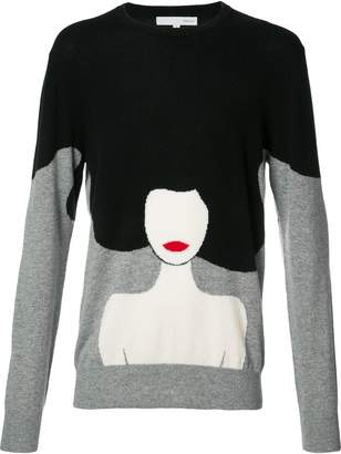 Private Stock woman motif jumper