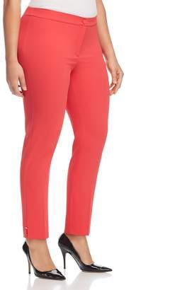 Marina Rinaldi Revival Notched-Hem Pants