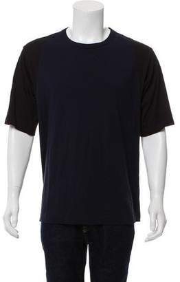 Dries Van Noten Long-Line Short-Sleeve Baseball T-Shirt