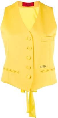 Styland power button-up waistcoat