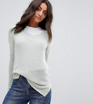 Brave Soul Tall Joy V Neck Sweater