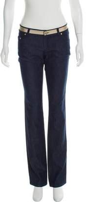 Versace Mid-Rise Straight-Leg Jeans