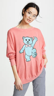 Wildfox Couture Groovy Teddy Top