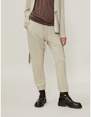 Rick Owens Drawstring woven trousers