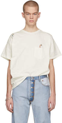 Remi Relief Off-White Skater Emblem T-Shirt