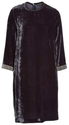 Fabiana Filippi Beaded Velvet Dress