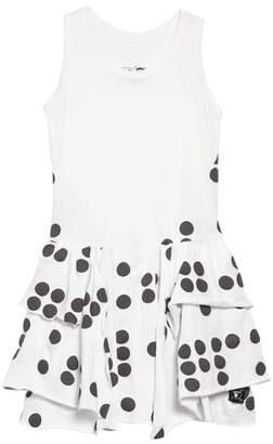 Nununu Braille Dot Layered Tank Dress