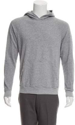 Theory Knit Hooded Sweatshirt