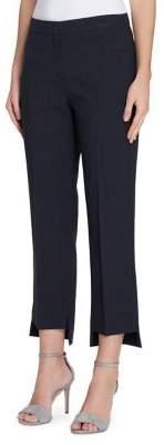 Tahari Arthur S. Levine Pinstripe Step-Hem Pants