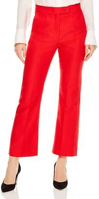 Sandro Houria Cropped Flared Pants