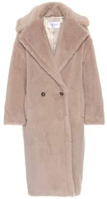 Max Mara Ginata alpaca and wool-blend coat