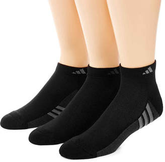 adidas 3-pk. Mens climacool Superlite Low Cut Socks - Extended Size