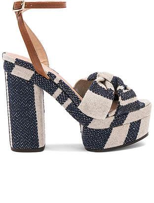 Castaner Amaia Heel in Navy $299 thestylecure.com