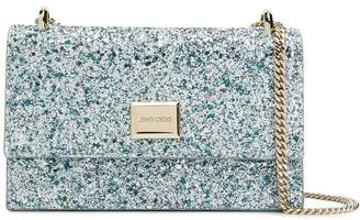 Jimmy Choo Leni glitter shoulder bag
