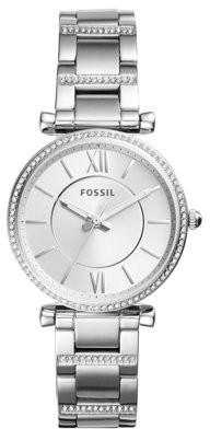 Fossil Women's Carlie Watch Quartz Mineral Crystal ES4341