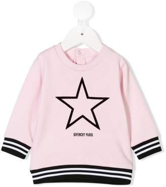 Givenchy Kids star logo sweatshirt