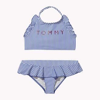 Tommy Hilfiger TH Kids Crop Top Stripe Bikini Set
