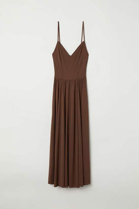 H&M Sleeveless Dress - Dark brown - Women