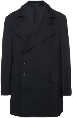 Yohji Yamamoto oversized double breasted jacket