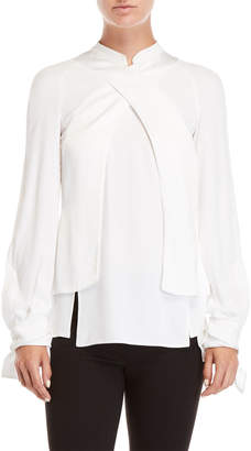 Antonio Berardi Satin Trim Shirt