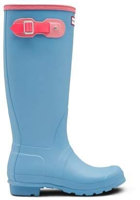 Hunter Colorblock Knee High Waterproof Rain Boot (Women)