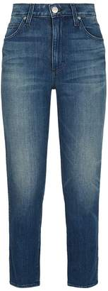 Amo Denim Stix High-Rise Crop Jeans