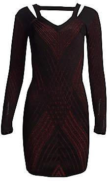 Roberto Cavalli Women's Lurex Mini Dress
