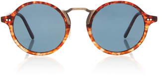 Oliver Peoples Kosa Round-Frame Acetate Sunglasses