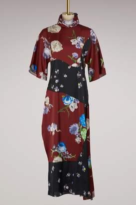 Acne Studios Dilona dress with flowers