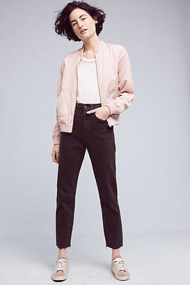 Levi's Wedgie High-Rise Straight Jeans $98 thestylecure.com