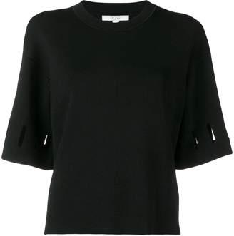 Dagmar cut-detail short sleeve top