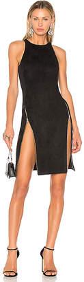 VATANIKA High Zip Slit Dress