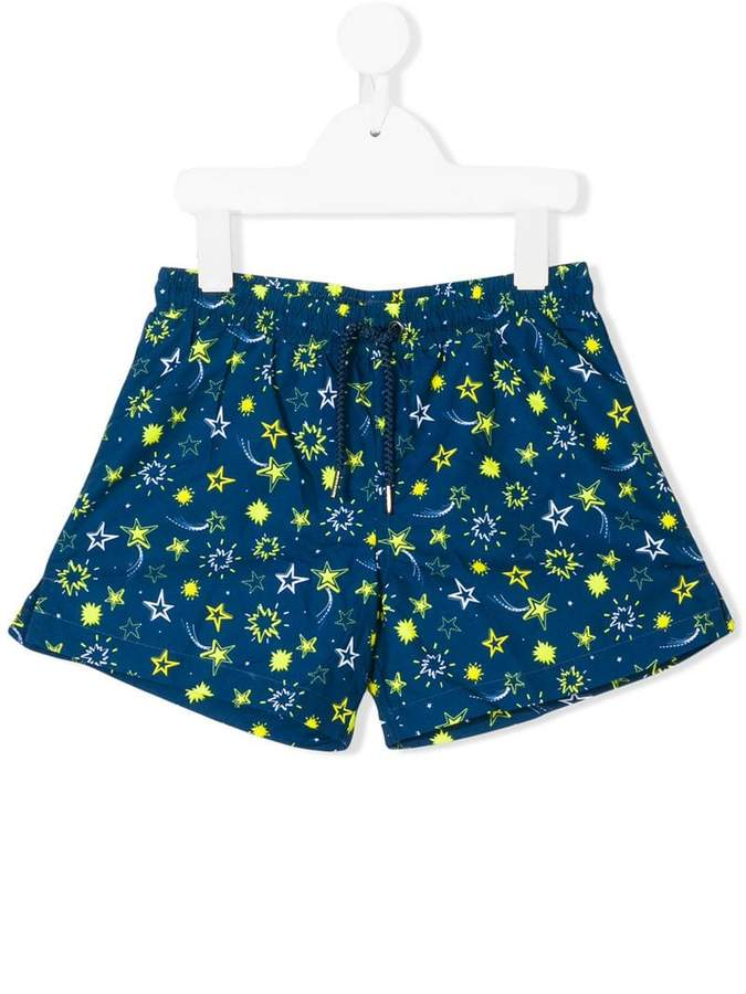 Sunuva neon star swim shorts