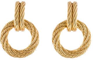 Christian Dior Christian Dior Door Knocker Earrings