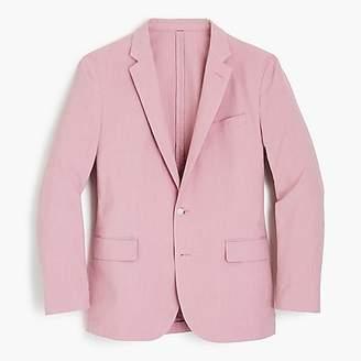 J.Crew Ludlow Slim-fit suit jacket in pink Italian cotton oxford