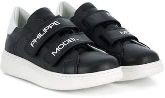 Philippe Model Kids velcro strap sneakers