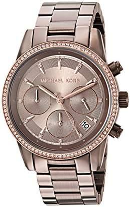 Michael Kors Women's 'Ritz' Quartz Stainless Steel Casual Watch