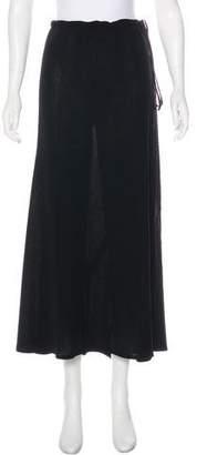 Ann Demeulemeester Virgin Wool Midi Skirt