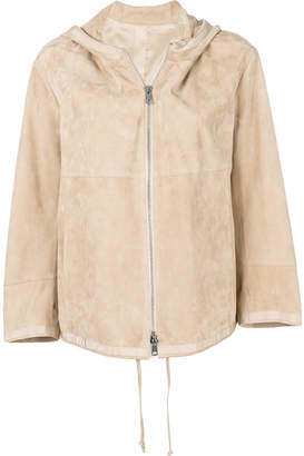 Sylvie Schimmel zip hooded jacket