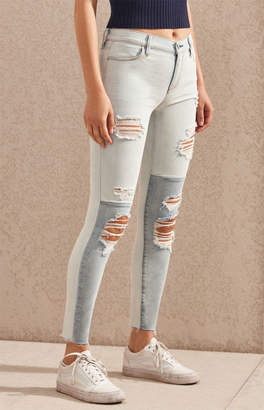 Pacsun Connect Blue Perfect Fit Jeggings