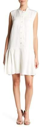 Lafayette 148 New York Minka Woven Sleeveless Dress (Petite)