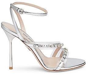Miu Miu Women's Embellished High Heel Sandals