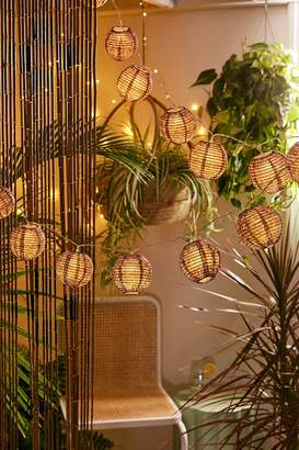 Urban Outfitters Paper Lantern String Lights