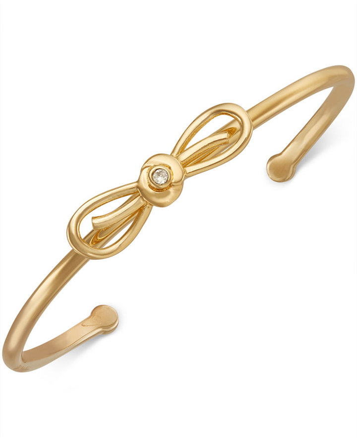 Kate Spadekate spade new york Gold-Tone Bow Cuff Bracelet