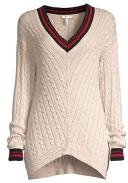 Joie Golibe Varsity Pullover Sweater