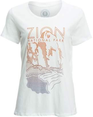 Zion Parks Project Cliff T-Shirt - Women's