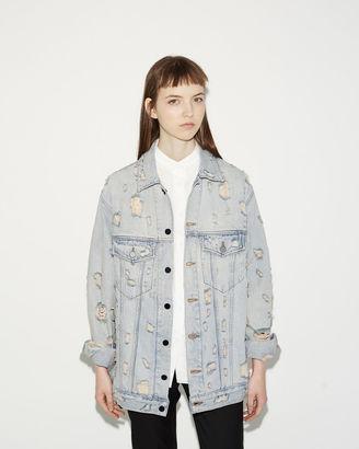 ALEXANDER WANG Daze Denim Jacket $495 thestylecure.com
