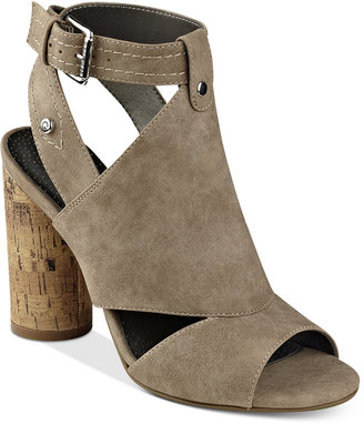 G by Guess Jonra Open-Toe Sandals Women's Shoes $69 thestylecure.com