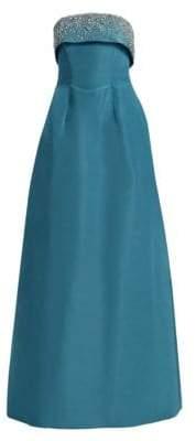 DAY Birger et Mikkelsen Catherine Regehr Doris Strapless Silk Gown