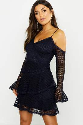 744408d92a Blue Crochet Lace Dresses - ShopStyle UK